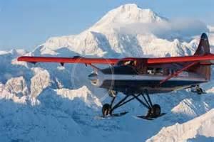 flight, Mt. McKinley