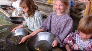 gold panning kids